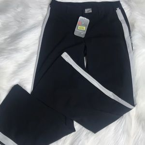 NWT Nike Sz Med Zipper Front With Belt Loops Pants